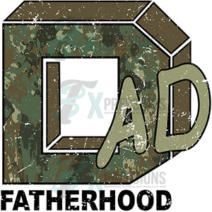 Camo Dad Fatherhood