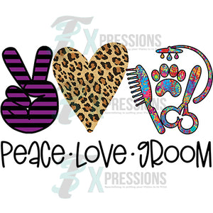Peace Love Groom (pet)