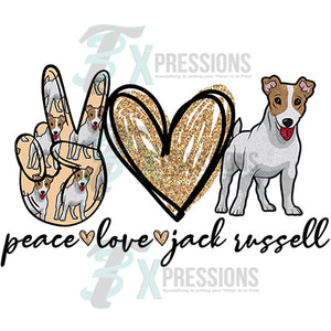 Peace Love Jack Russell