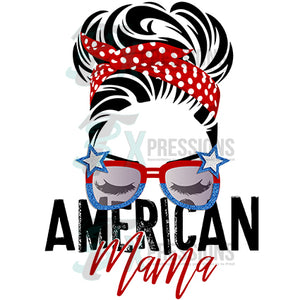 American Mama with glasses