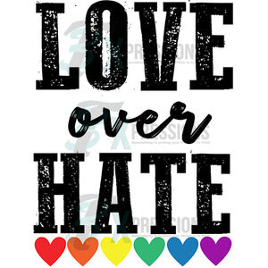 Love over Hate Pride