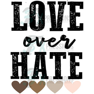 Love Over Hate skin tone