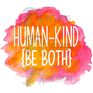 Be Kind watercolor background