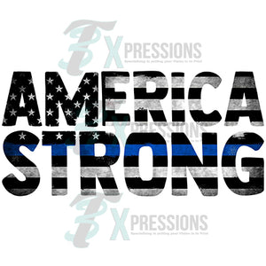 America Strong Blue Line