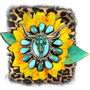 Boho Sunflower