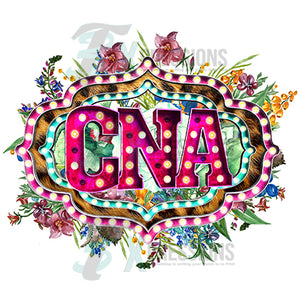 CNA Marquee Letters