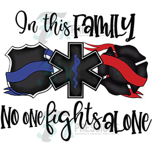 In This family noone fights alone