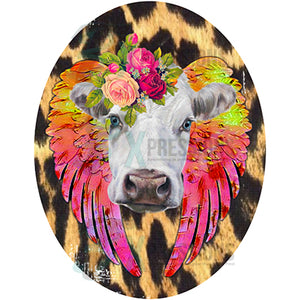 Cow with Feathers