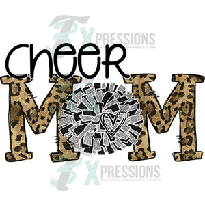 Cheer Mom Leopard