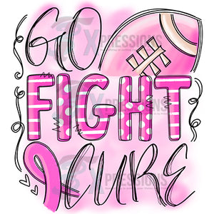 Go Fight Cure pink