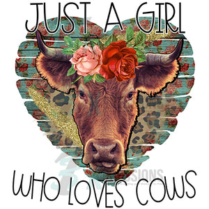 Just a Girl Who Loves Cows