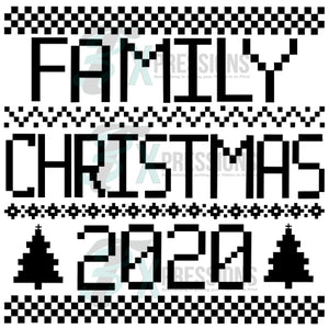 Family Christmas 2020 Sweater