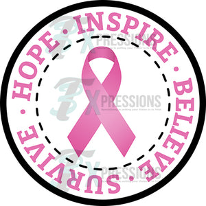 Breast Cancer Hope Inspire Believe Survive