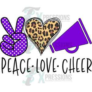 Peave Love Cheer Purple