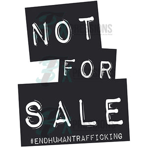 Not for Sale End Child Trafficking