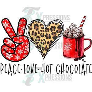 Peace Love Hot Chocolate