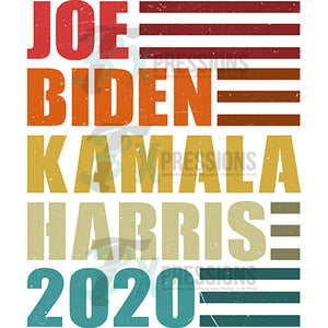 Joe Biden Kamala Harris 2020 Retro