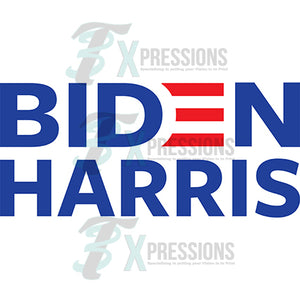 Biden Harris Blue and Red