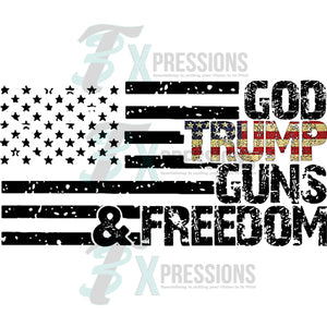 God Trump Guns Freedom