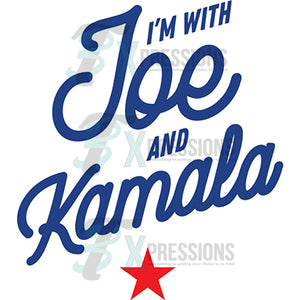 I'm with Joe and Kamala