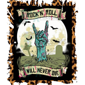 Rock N Roll Will Never Die Leopard