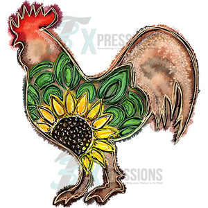 Rooster Sunflower