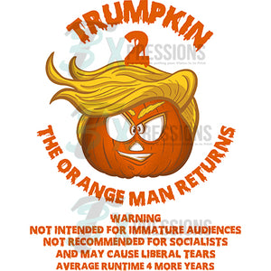 Trumpkin the orange man returns