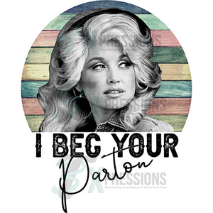 I Beg your Parton