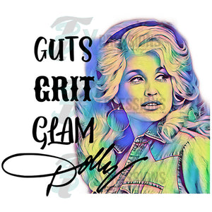 Dolly Guts Grit Glam