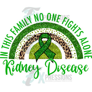 Kidney Disease rainbow Green