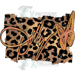 Dolly Leopard Background
