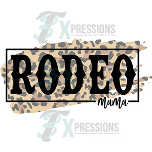 Rodeo Mama Leopard