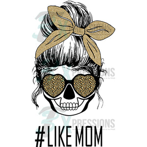 Like mom leopard