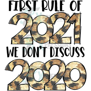 First Rule 2021