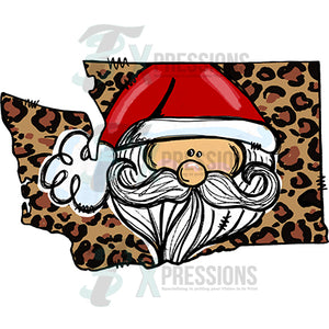 Washington Leopard Santa