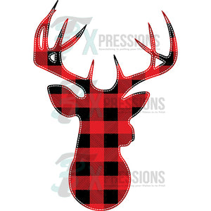 Oh Deer Buffalo Plaid
