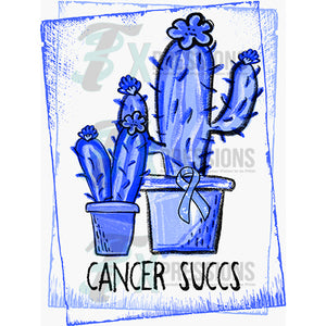 BLUE CANCER SUCCS