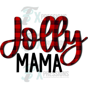 JOLLY MAMA PLAID
