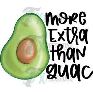More extra than guac