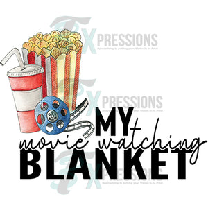 My Movie Watching Blanket