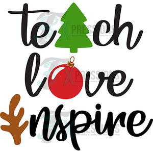 Teach Love Inspire Christmas