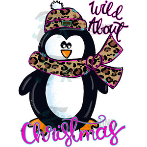 Wild about Christmas Penguin
