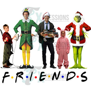 Christmas Friends no background