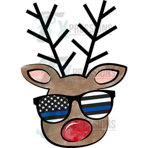 Blue Line Boy Reindeer