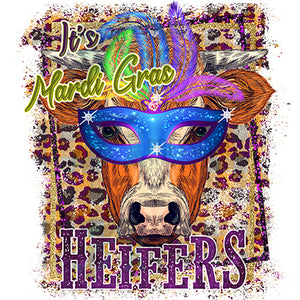 its mardi gras heifers