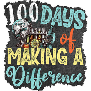 100 Days of Making a difference