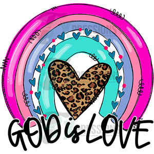 God is Love Rainbow