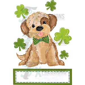 Personalized Boy Puppyr St Patrick