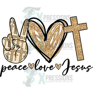 Peace Love Jesus