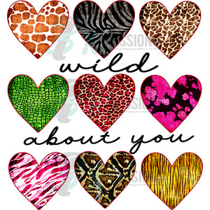 wild about you hearts